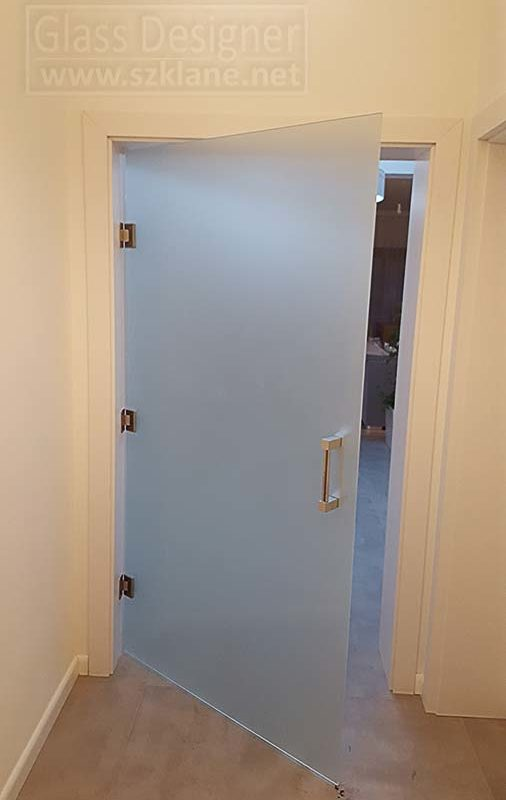 drzwi matowe | satynowe