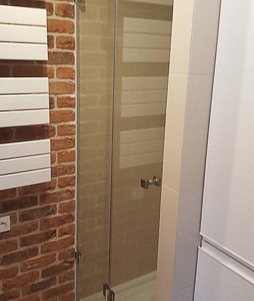 drzwi szklane typu harmonijka
