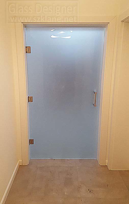 drzwi wahadłowe mleczne