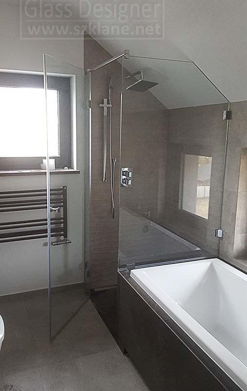 hartowane kabiny prysznicowe