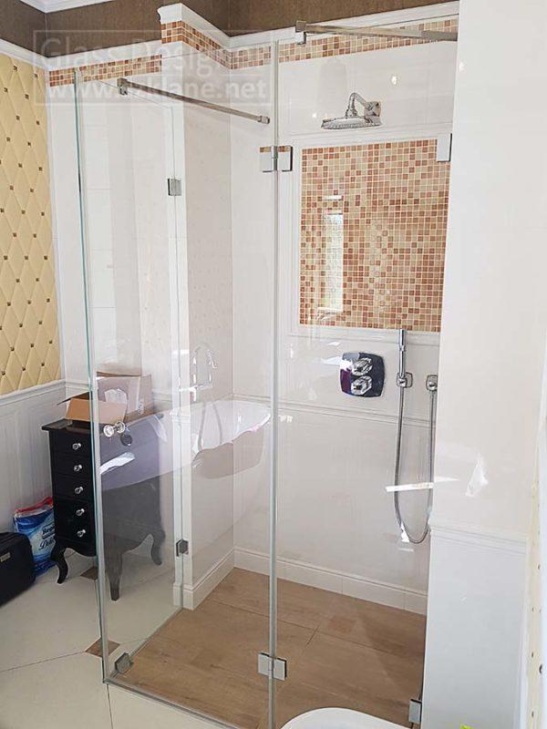 kabiny prysznicowe - bez brodzika