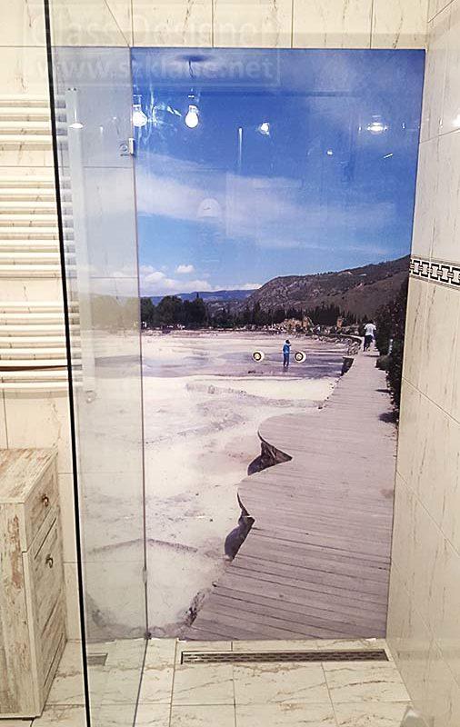 panele szklane łazienka