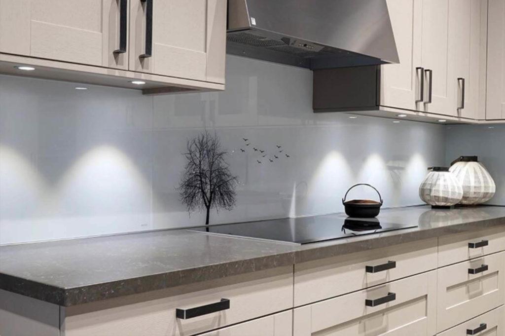 Wzory Minimalistyczne Na Panel Szklany W Kuchni