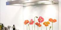panel szklany maki