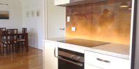brązowa tekstura w kuchni