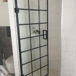 Drzwi loftowe łazienkowe