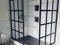 kabina pryszcnicowa czarny profil