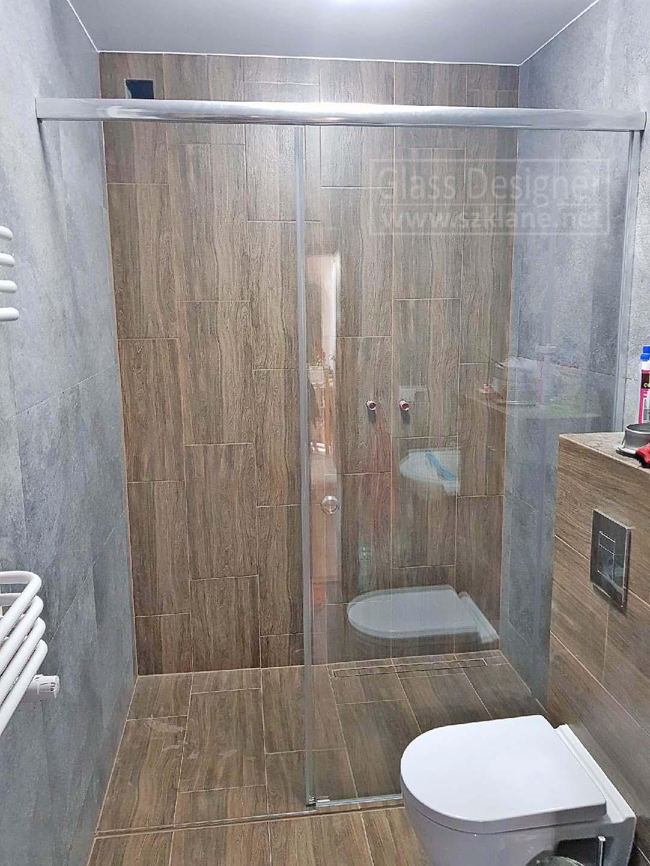 przesuwne drzwi szklane łazienkowe przesuwne