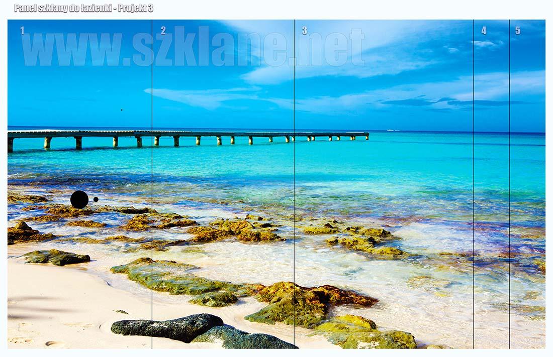 laguna panel szklany lazienka