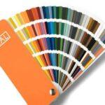 Wzornik kolorów szkła