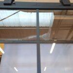 system na kółkach szkło